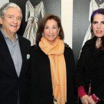 Carlos Antonio Espinosa, Anita Krell y Adriana Marmorek.