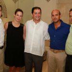 Alex Yi, María Olga Salazar, Esteban De Pombo, Ernesto Vélez y Jorge Enrique Vélez.