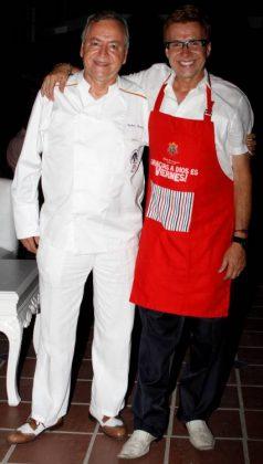 Rafael Martínez y Jaíro Martinez