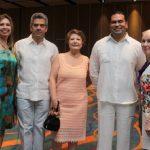 Margarita De los Rios, Rafael Simón del Castillo, Maria Cristina Pacheco, Roberto Castello y Julia Hawley