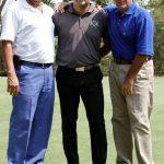 Ricardo Barrios, Ricardo Perdomo Venegas y Alfredo Morales.