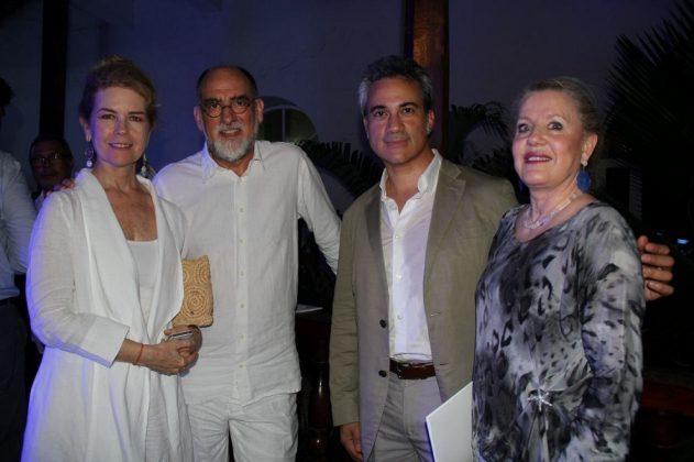 Ruby Rumié, Roberto Benavente, William Arbizu y Pilar Millán