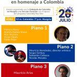 Carmenza Jaramillo invita a concierto de piano